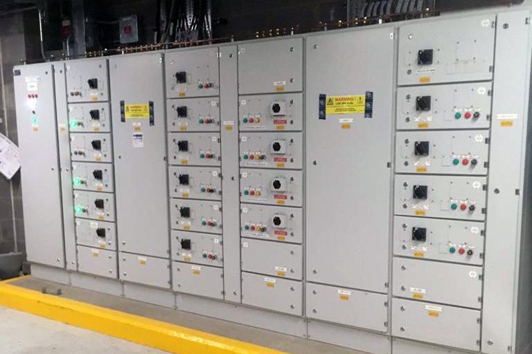 Steve Garrard Limited - Elizabeth line electrical cabinet work
