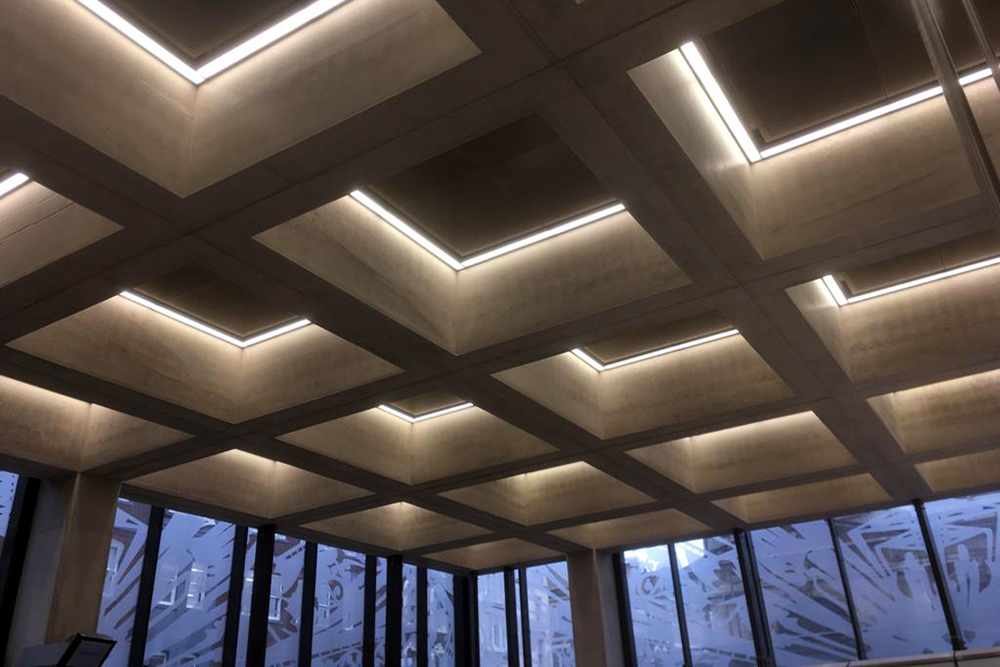 Steve Garrard Limited - Elizabeth line roof lighting